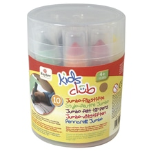 Jumbo-Filzstifte, Box, 10 verschiedene Farben, gemischt
