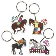 Schrumpffolien-Set My Pony, 4 Motive m. Schlüsselring, 8-teilig