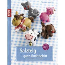 Buch: Salzteig, ganz kinderleicht, Nur in deutscher Sprache, Nur in deutscher Sprache