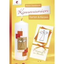 Buch: Kommunion Karten&Kerzen, nur in deutscher Sprache