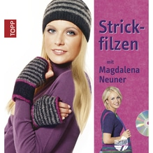 Buch: Strickfilzen, m. DVD,nur in deutscher Sprache