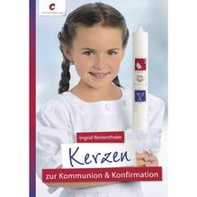 Buch: Kerzen zur Kommunion&Konfirmation, nur in deutscher Sprache