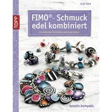 Buch: FIMO-Schmuck edel kombiniert, nur in deutscher Sprache