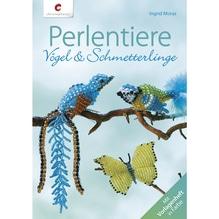 Buch: Perlentiere Vögel+Schmetterlinge, nur in deutscher Sprache