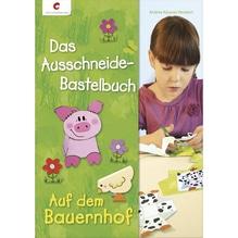 Ausschneidebastelbuch: Auf dem Bauernhof, nur in deutscher Sprache