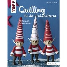 Buch: Quilling f. die Weihnachtszeit, nur in deutscher Sprache