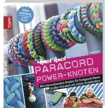 Buch: Paracord Power-Knoten, nur in deutscher Sprache
