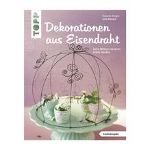 Buch: Dekorationen aus Eisendraht, nur in deutscher Sprache