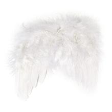 Engelflügel aus Federn, 15 cm, SB-Btl. 2 Stück, weiß