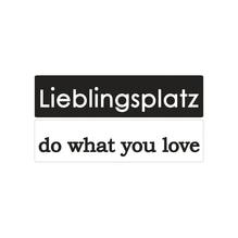 Labels D+GBLieblingsplatz+do what..., 60x15mm, SB-Btl 2Stück