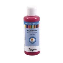 Kinder-Bastelfarbe, Flasche 80ml, red magma