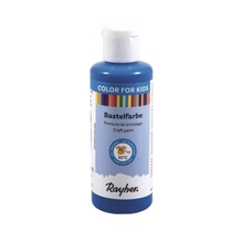 Kinder-Bastelfarbe, Flasche 80ml, royalblau