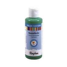 Kinder-Bastelfarbe, Flasche 80ml, immergrün