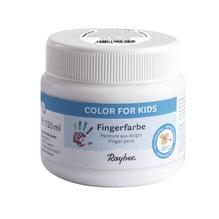 Fingerfarbe, Dose 150ml, weiß