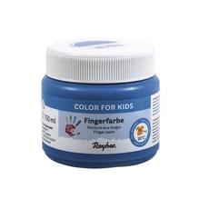 Fingerfarbe, Dose 150ml, echtblau