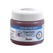 Fingerfarbe, Dose 150ml, erdbraun