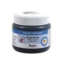 Fingerfarbe, Dose 150ml, schwarz