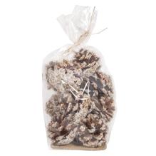 Kiefer Zapfen beschneit, 5x4,5cm, Beutel 150g