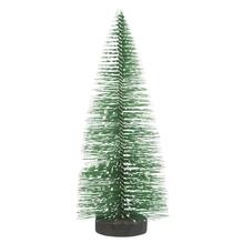 Deko-Tannenbaum beschneit, 15cm, grün, PVC-Box 3Stück