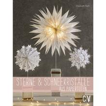 Buch:Sterne+Schneeflocken ausPapiertüten, nur in deutscher Sprache