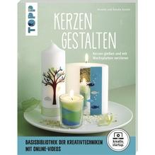 Buch: Kerzen gestalten, nur in deutscher Sprache