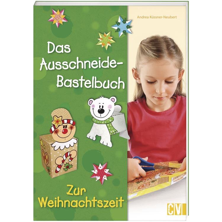 Buch: Ausschneidebuch zur Weihnachtszeit, nur in deutscher Sprache