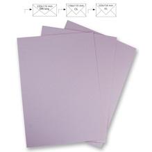 Briefbogen A4, uni, FSC Mix Credit, 210x297mm, 90g/m2, Beutel 5Stück, flieder