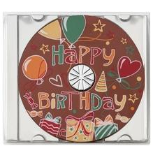 """Weibler Geschenkpackung 'CD Party Happy Birthday"""" Vollmilch-Schokolade, 45 g"""