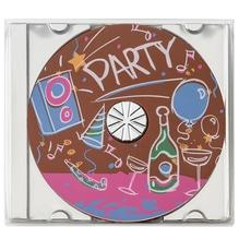 "Weibler Geschenkpackung 'CD Party"" Vollmilch-Schokolade, 45 g"