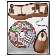 "Weibler Geschenkpackung 'Computer- Set"" Vollmilch-Schokolade, 200 g"