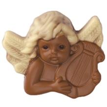 Weibler Relief 'Engel Harfe' Vollmilch-Schokolade, 40 g