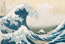 Katsushika Hokusai Die große Welle