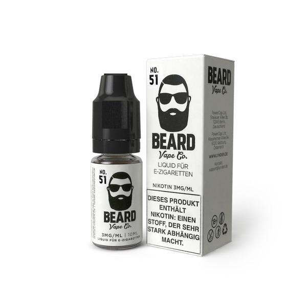 E-Liquid von Beard Vape, Nr. 51