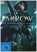 Arrow. Staffel.5, 5 DVDs