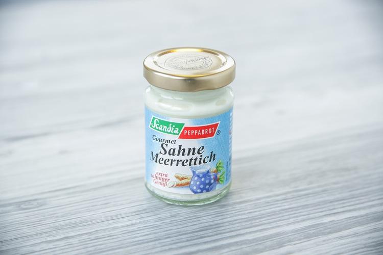 Sahnemeerrettich (Scandia); 1 Glas á 80 g
