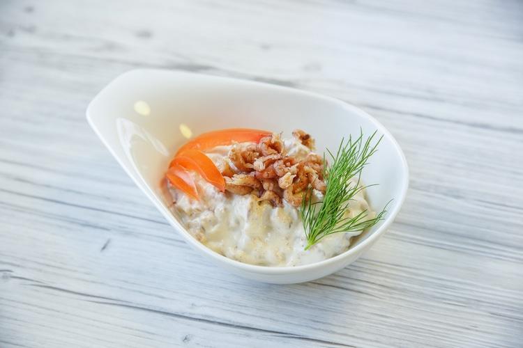 Nordseekrabbensalat; 1 Becher á 250 g