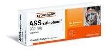ASS 500mg ratiopharm 30 Tabletten