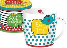 Jumbobecher 'Tea Time'