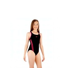 SPEEDO MONOGRAM MSBK JF BLACK/PINK