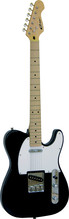 CAREER E-Gitarre Modell 'T' black MN