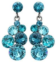 Konplott Ohrring Petit Glamour blue