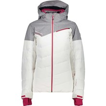 CMP Damen Jacke mit Stepp weiß/grau  3W02676