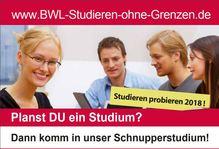 Schnupperstudium - Studieren probieren!
