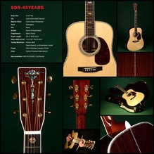 SIGMA Guitars SDR-45 Years Limited Edition Akustik-Gitarre vollmassiv!