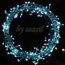 LED Lichtkranz XXL Weihnachten Türkranz Wandkranz