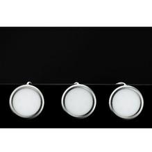 3er Set LED Unterbauleuchte Flach für Steckdose