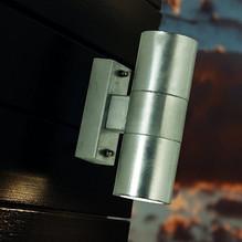 LED Wandstrahler außen Up Down IP 54 Castor verzinkt