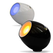 Tischleuchte D-Light schwarz mit Lautsprecher