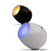 Tischleuchte D-light weiß mit Lautsprecher