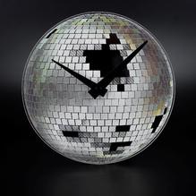 Tischuhr Little Disco Discokugel Wanduhr Ø20cm 5172